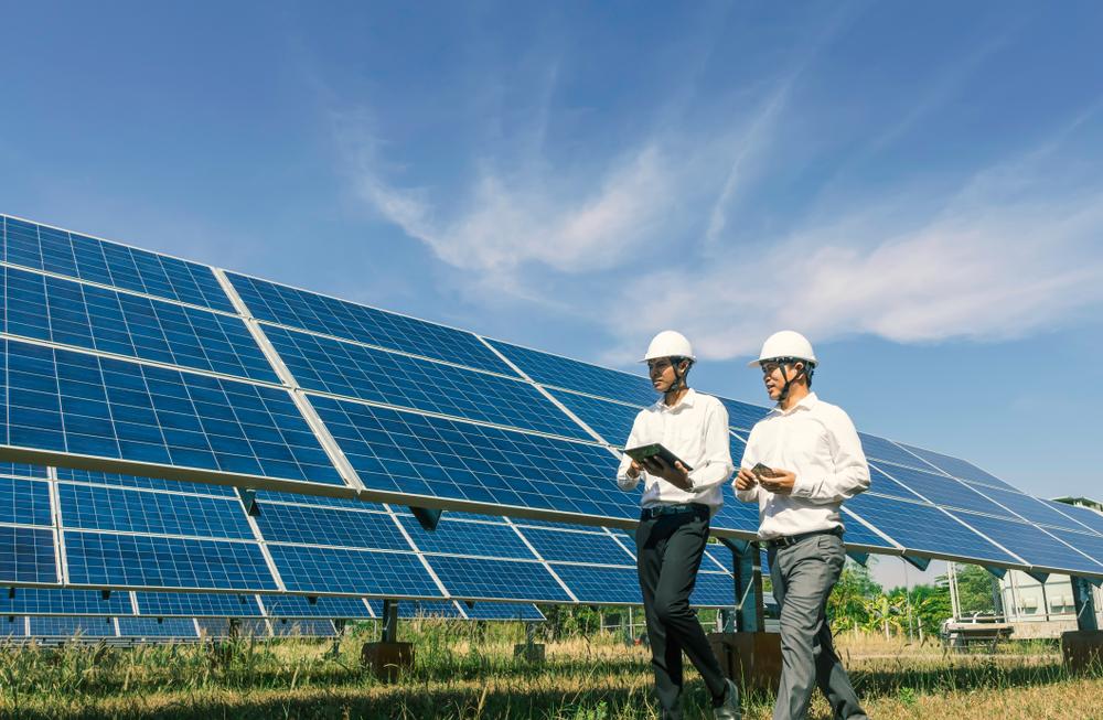 Fonctionnement d'un panneau photovoltaïque